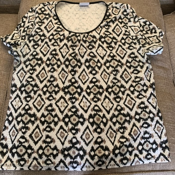 Jaclyn Smith Tops Euc Top Size L See Measurements Poshmark